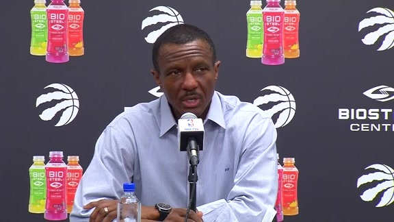Dwane Casey Season-Ending Media Availability - May 9, 2018
