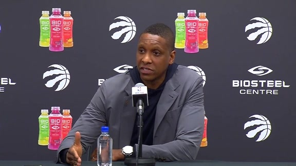 Masai Ujiri Season-Ending Media Availability - May 9, 2018