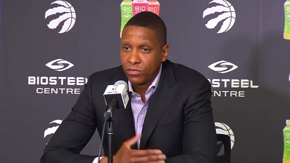 Masai Ujiri Press Conference - May 11, 2018