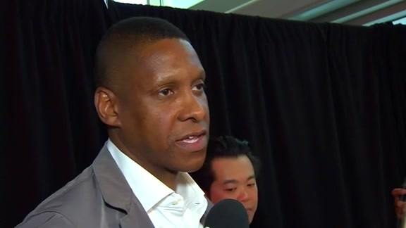 Raptors Press Conference: Masai Ujiri (Scrum) - June 14, 2018