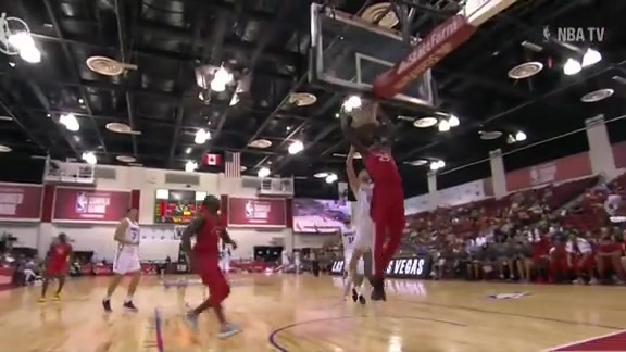 Raptors Summer League: Alkins to Boucher Alley-Oop - July 11, 2018