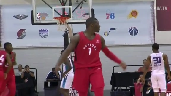Raptors Summer League: Rawle Alkins Dagger Three - July 14, 2018