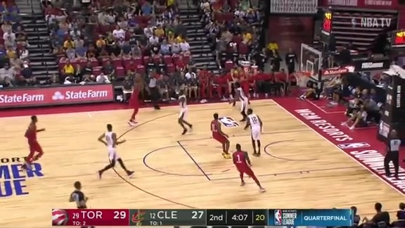 Raptors Summer League: Toronto vs Cleveland - July 15, 2018