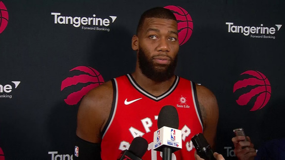 Raptors Media Day: Greg Monroe - September 24, 2018