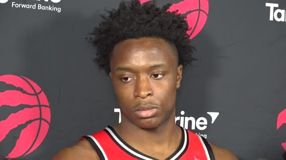 Raptors Media Day: OG Anunoby - September 24, 2018
