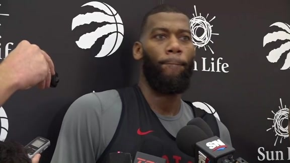 Raptors Practice: Greg Monroe - October 18, 2018