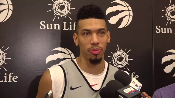 Raptors Practice: Danny Green - October 18, 2018