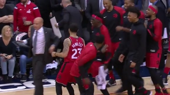 Raptors Highlights: Fred Van Vleet Jumper - October 20, 2018