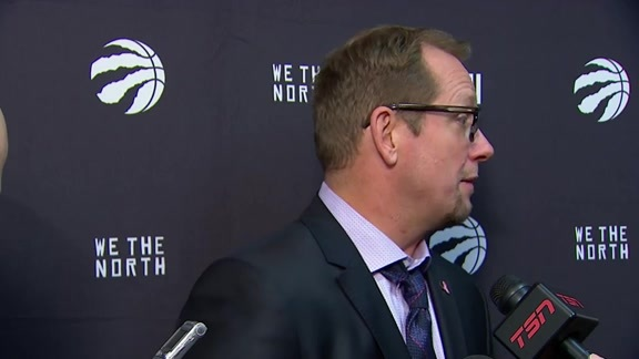 Raptors Post-Game: Nick Nurse - October 20, 2018