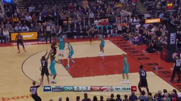 Raptors Highlights: Ibaka Block Leads to Kawhi Three - October 22, 2018