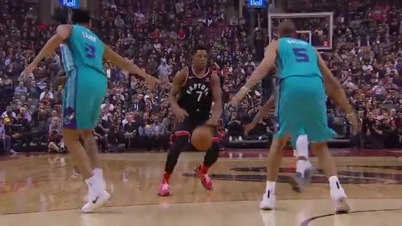 Raptors Highlights: Lowry And-One - October 22, 2018