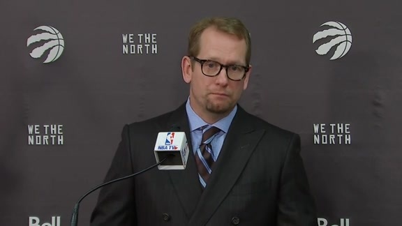 Raptors Post-Game: Nick Nurse - October 22, 2018