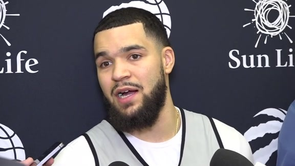 Raptors Practice: Fred VanVleet - October 28, 2018