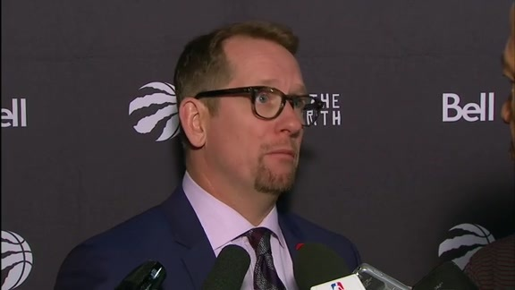 Raptors Post-Game: Nick Nurse - November 7, 2018