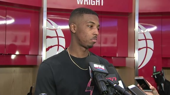 Raptors Post-Game: Delon Wright - November 10, 2018