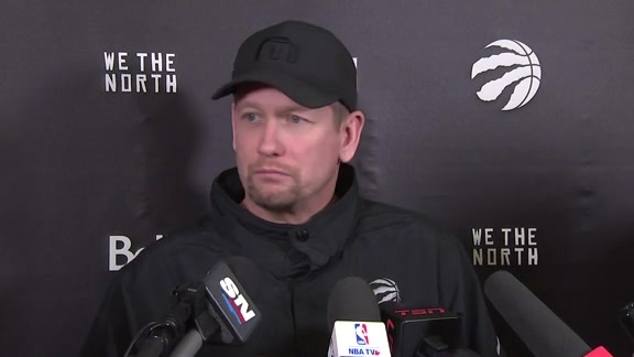Raptors Shootaround: Nick Nurse - November 12, 2018