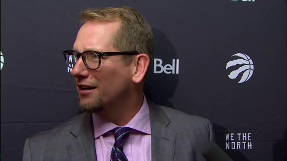 Raptors Post-Game: Nick Nurse - November 16, 2018