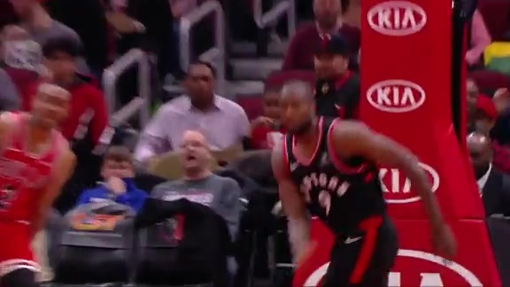 Raptors Highlights: Ibaka Dunk - November 17, 2018