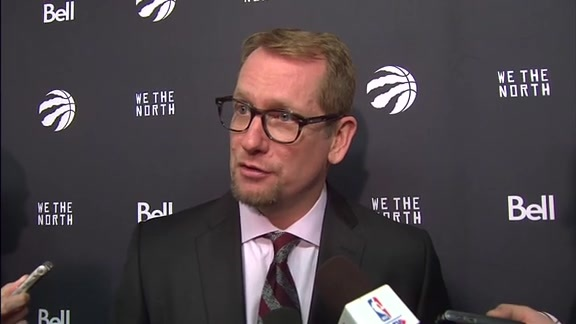 Raptors Post-Game: Nick Nurse - November 17, 2018