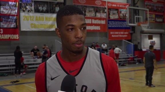 Raptors Practice: Delon Wright - November 19, 2018