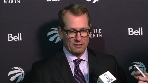 Raptors Post-Game: Nick Nurse - November 21, 2018