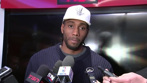Raptors Post-Game: Kawhi Leonard - December 5, 2018