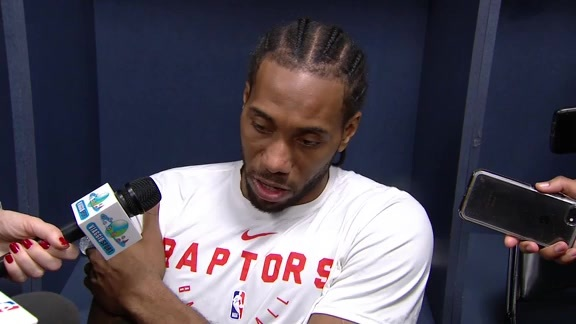 Raptors Post-Game: Kawhi Leonard - December 7, 2018