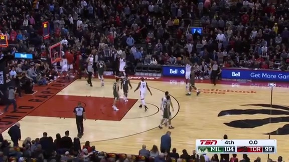 Game Highlights: Bucks at Raptors - December 9, 2018
