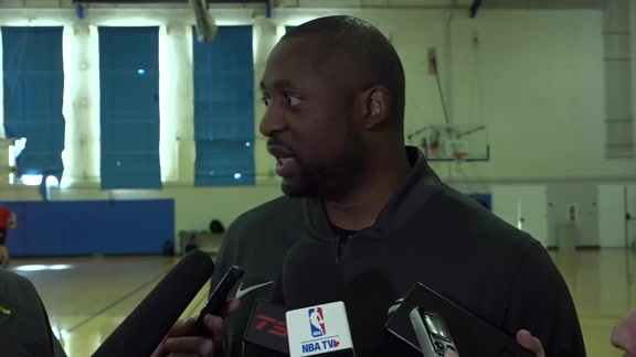 Raptors Shootaround: Adrian Griffin - December 11, 2018