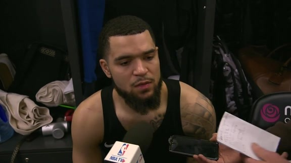 Raptors Post-Game: Fred VanVleet - December 14, 2018