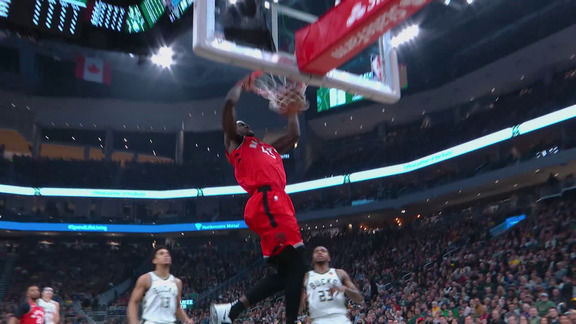 Raptors Highlights: Siakam Slam - January 5, 2019