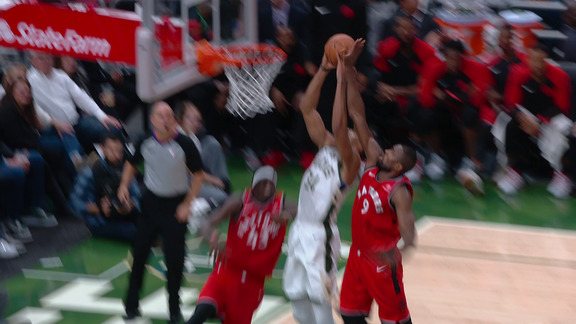 Raptors Highlights: Ibaka Blocks Antetokounmpo And Buries The Triple - January 5, 2019