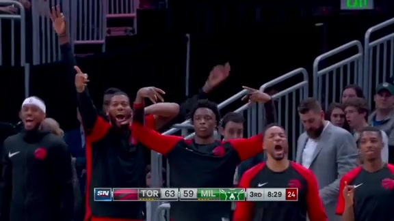 Game Highlights: Raptors at Bucks - January 5, 2019