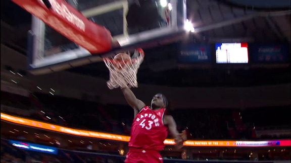 Raptors Highlights: Siakam Steal And Slam - January 13, 2019
