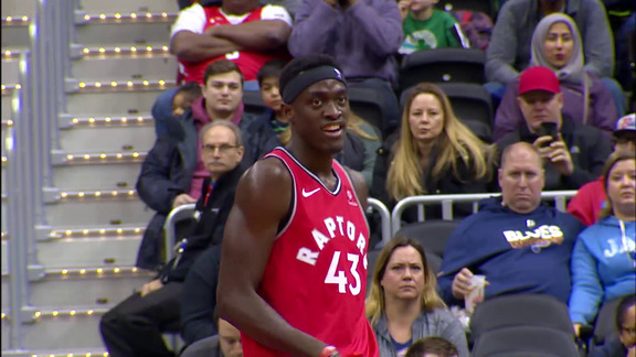 Raptors Highlights: Siakam Blocks Beal - January 13, 2019