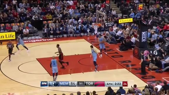Game Highlights: Grizzlies at Raptors - January 19, 2019