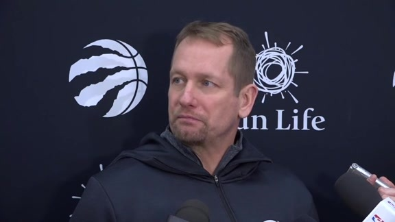 Raptors Practice: Nick Nurse - January 21, 2019