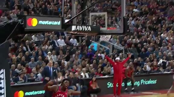 Raptors Highlights: OG Steal and Slam - February 13, 2019