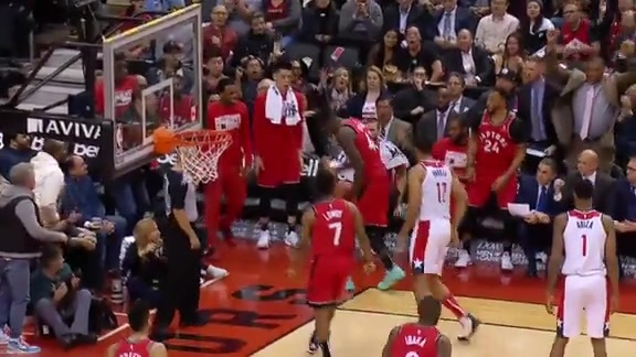 Raptors Highlights: Siakam Slam and Block - February 13, 2019