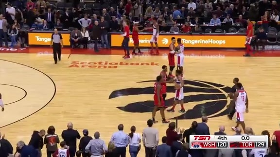 Game Highlights: Wizards at Raptors - February 13, 2019