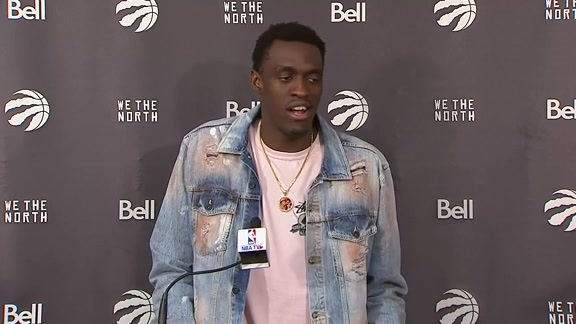 Raptors Post-Game: Pascal Siakam - February 13, 2019