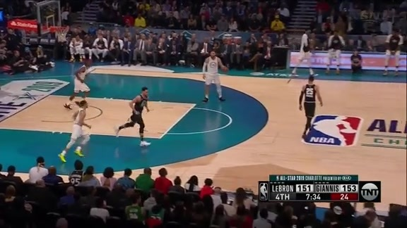 2019 NBA All-Star Game: Kawhi Leonard Threes - February 17, 2019