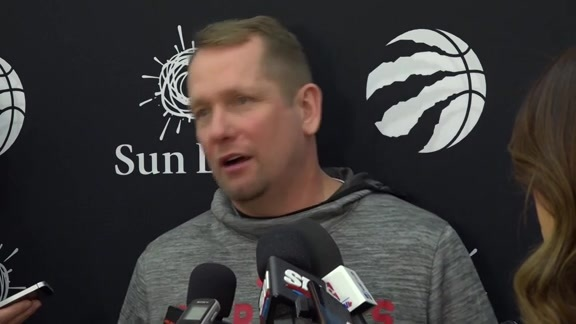 Raptors Practice: Nick Nurse - February 20, 2019