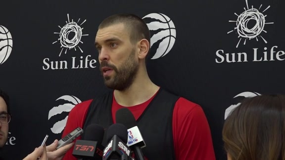 Raptors Practice: Marc Gasol - February 20, 2019