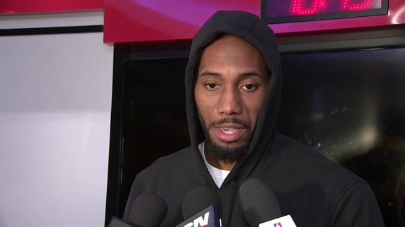 Raptors Post-Game: Kawhi Leonard - February 22, 2019