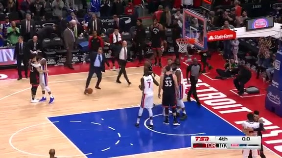 Game Highlights: Raptors at Pistons - March 17, 2019