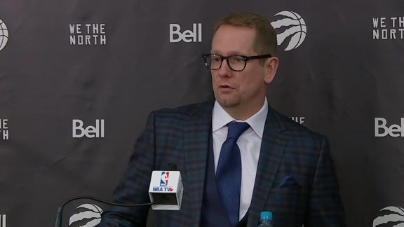Raptors Post-Game: Nick Nurse - March 18, 2019