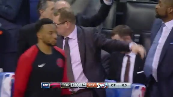 Game Highlights: Raptors at Thunder - March 20, 2019