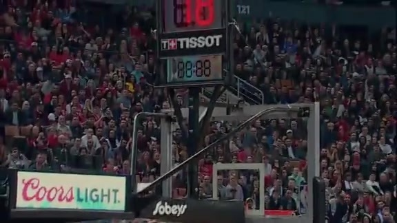 Raptors Highlights: Siakam Block and Green Three - March 22, 2019