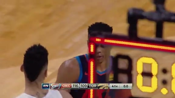 Game Highlights: Thunder at Raptors - March 22, 2019